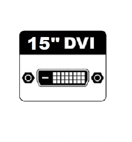 "15"" DVI Monitors"