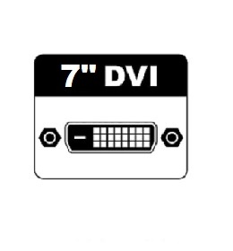 "7"" DVI Monitors"