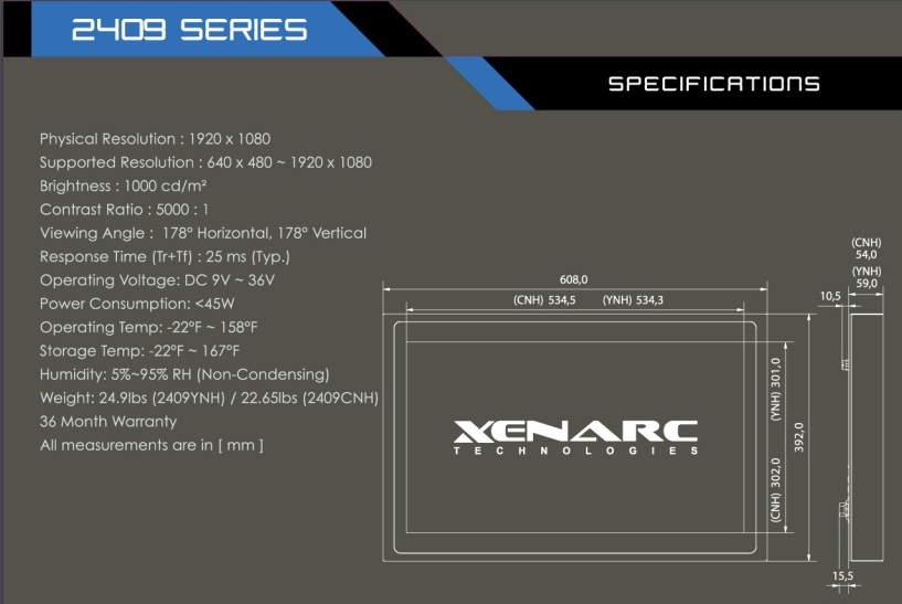https://www.xenarc.com/2409CNH.html The Best Rugged Touchscreen Solutions for Cleaning and Sanitizing in Food Processing and Beverage Plants   https://www.xenarc.com/2409YNH.html