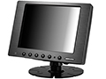 "8"" Sunlight Readable GFG Touchscreen LCD Display Monitor with HDMI, DVI, VGA & AV Video Inputs"