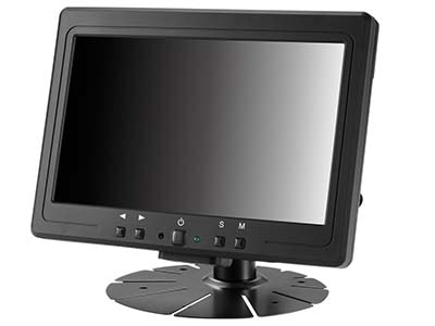 "7"" Sunlight Readable LCD Small Monitor with HDMI & Displayport Inputs"