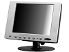 "8"" Rugged LCD Monitor with VGA & AV Inputs"